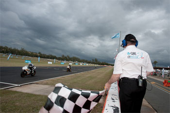 Queensland Raceway ASBK crowd 30 percent down on 2011