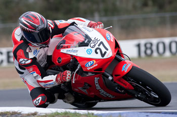 Charlton and Stauffer split QLD Raceway ASBK victories