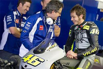 Yamaha welcomes Valentino Rossi 'home'