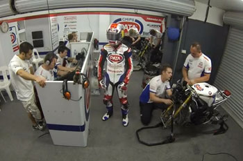 Team Pata Honda does the Harlem Shake at Phillip Island
