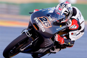 Moto2 and Moto3 grand prix testing concludes at Valencia in Spain