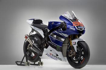 Yamaha Factory Racing launches 2013 MotoGP livery