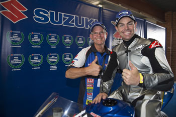 Lowndes impresses with Team Suzuki at Top Gear Festival