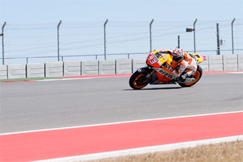 Márquez leads opening day of MotoGP testing at Austin