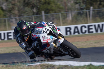 Allerton wins first Australian Superbike race at Queensland Raceway