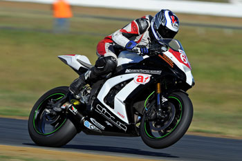 Burke exceeds team expectations in ASBK Prostock debut