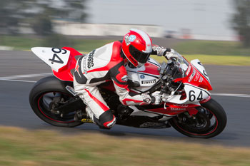 Morris wins Supersport race two for round four overall at SMP