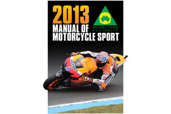MA's Manual of Motorcycle Sport goes digital from 2014