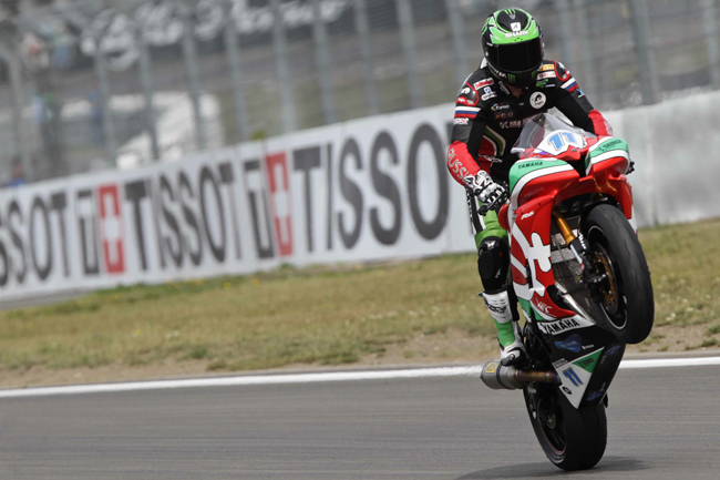 Sam Lowes took another strong World Supersport victory in Germany.