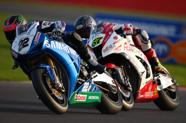 Alex Lowes and Shane Byrne split wins at Silverstone BSB.