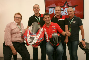 Retired Spanish legend Checa to become ambassador for Ducati