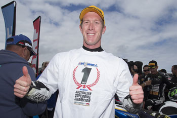 Maxwell clinches maiden ASBK crown in race one at Phillip Island