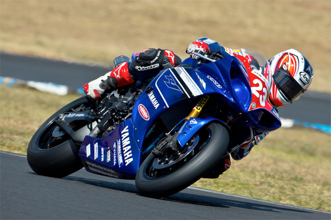 Broc Parkes clinched the FX-Superbike title at SMP. Image: Brian Dyer.
