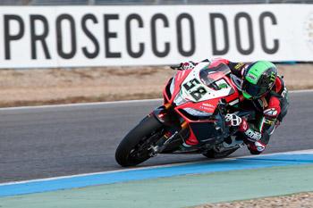 Laverty takes Jerez WSBK pole, Aitchison in career-best ninth