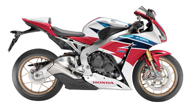 First look: Honda unveils 2014 Honda CBR1000RR SP edition