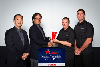 2013 Yamaha Oceania Technician Grand Prix winner announced