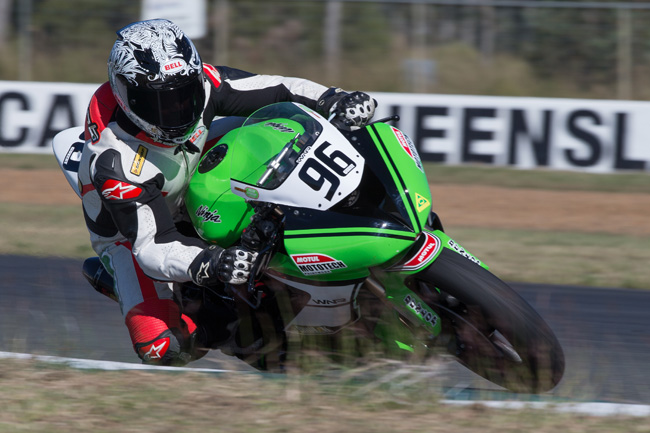 2013 Kawasaki Australia-supported road racers