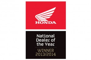 Honda names 2013/2014 National Dealer of the Year