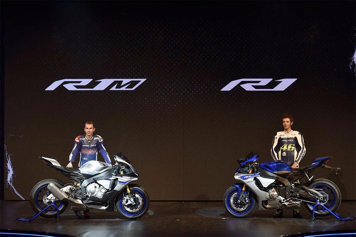 Two 2015 Yamaha YZF-R1 models debut at EICMA - CycleOnline.com.au