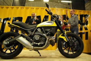 Ducati Scrambler production underway in Borgo Panigale
