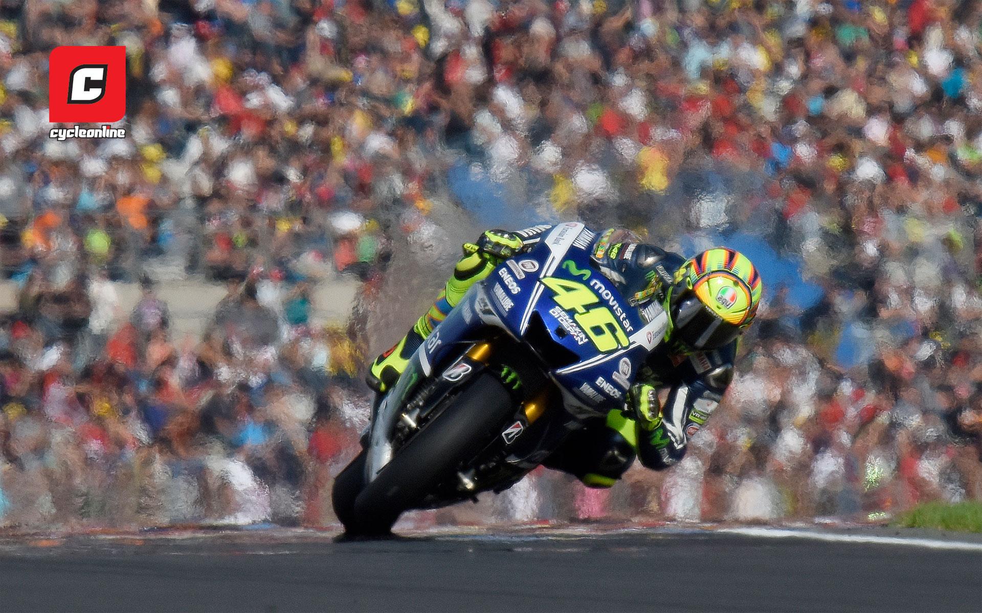 Wednesday Wallpaper: Valentino Rossi - CycleOnline.com.au