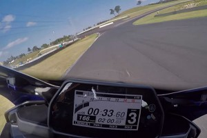 On Board: 2015 Yamaha YZF-R1 laps Sydney Motorsport Park