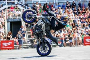 Yamaha stunt rider Mckenna aligns with YMI