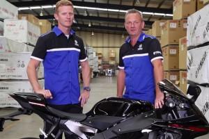 2015 Yamaha YZF-R1 with Glenn Allerton