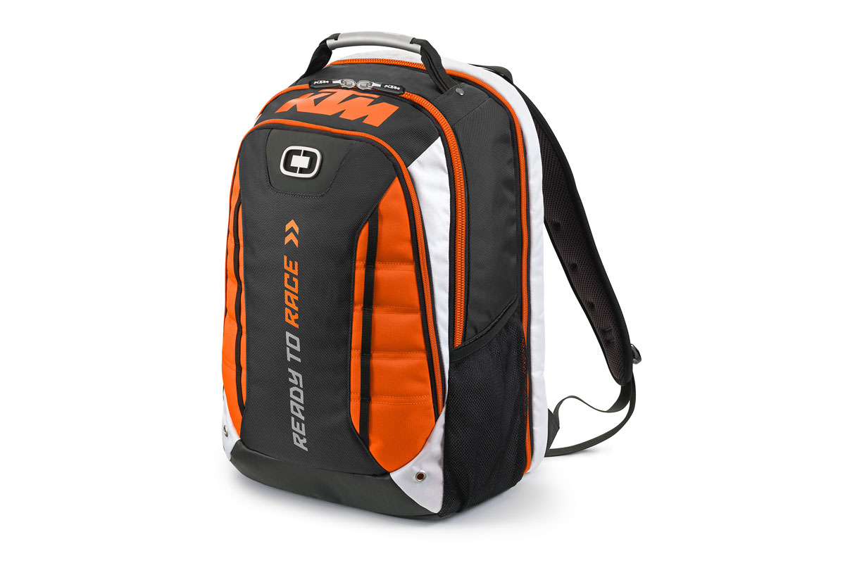 Product: OGIO KTM Circuit Backpack - CycleOnline.com.au