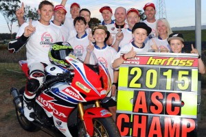 Team Honda Racing win back to back double Championships