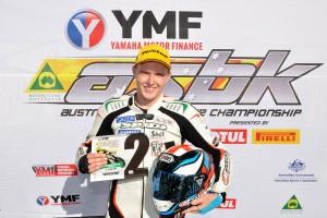 Luke Mitchell leads Yamaha Supersport charge