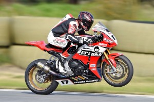 Crankt Protein Honda Racing Team taking positives away from Round four of ASBK