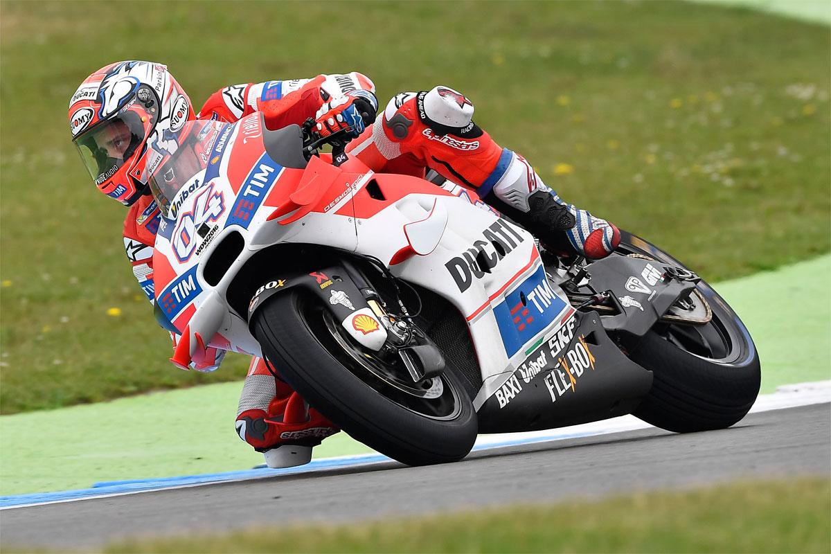 Dovizioso overcomes conditions for Assen MotoGP pole - CycleOnline.com.au