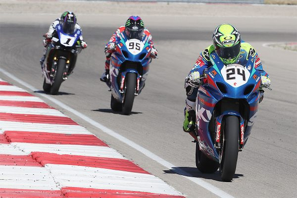 Utah MotoAmerica wins split between Beaubier and Elias