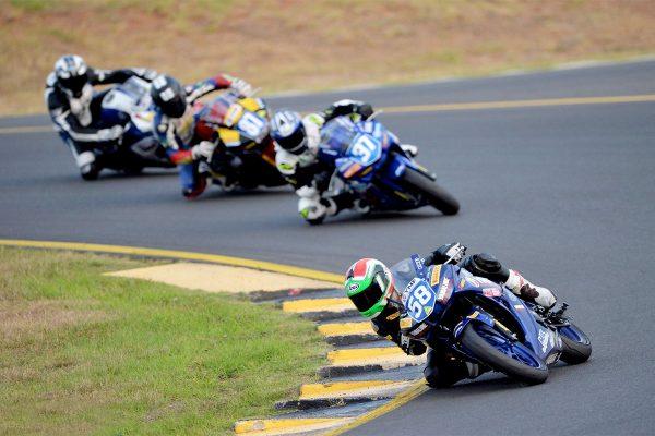 Yamaha R3 Cup to resume at Morgan Park ASBK round