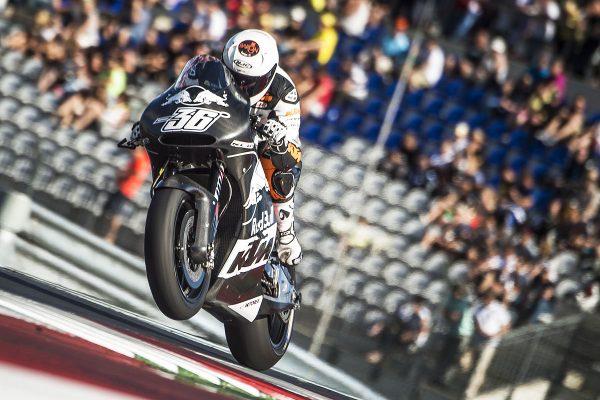 KTM MotoGP Factory Racing Team project on target
