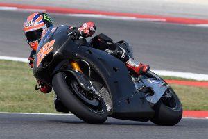 Lowes gets first taste of Aprilia MotoGP contender