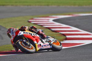 Marquez leads MotoGP into British Grand Prix