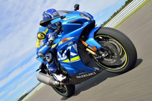 Viral: 2017 Suzuki GSX-R1000 on track
