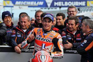 Marquez on MotoGP pole, Miller fifth at Phillip Island