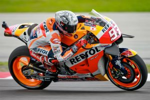 Marquez sets MotoGP pace on Friday at Sepang