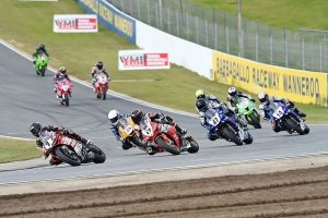 Motorcycle racing suspended by Barbagallo Raceway operators
