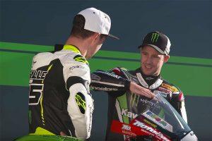 Viral: Kawasaki Racing Team - Rider X Over