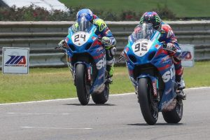 Elias and Hayden re-sign with Suzuki in MotoAmerica