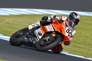 Spriggs shows potential in Phillip Island ASBK race one