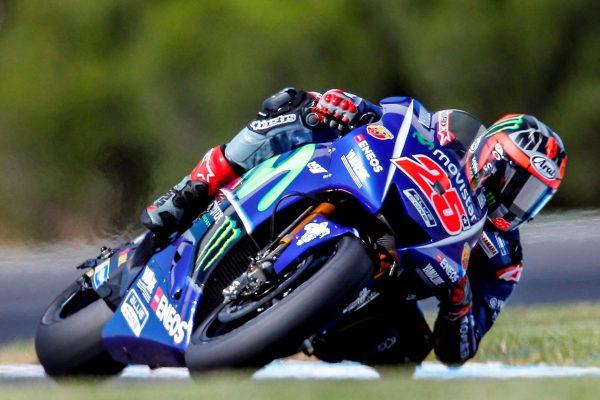 Yamaha newcomer Viñales ends Phillip Island test fastest