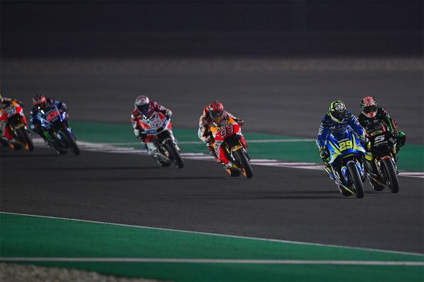 Costly mistake dashes Iannone's chances of first Suzuki podium
