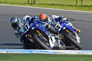 Dunlop riders land on Phillip Island ASBK podium