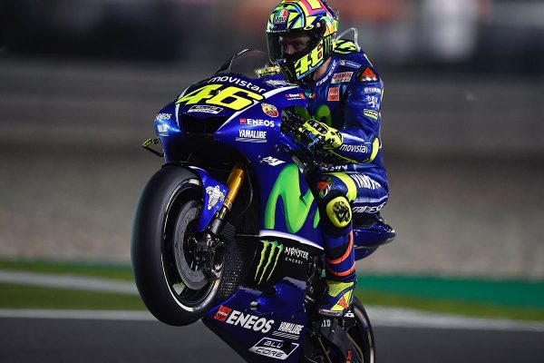 'Never give up' approach pays off for Rossi at Losail