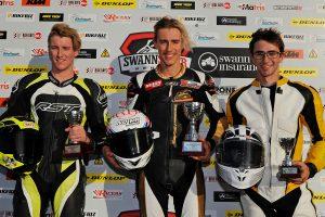 Croker and KTM RC390 lead Australasian Championship